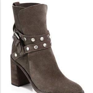 See by Chloe Grey Janis Ankle boots